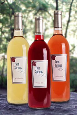 Twin springs wine