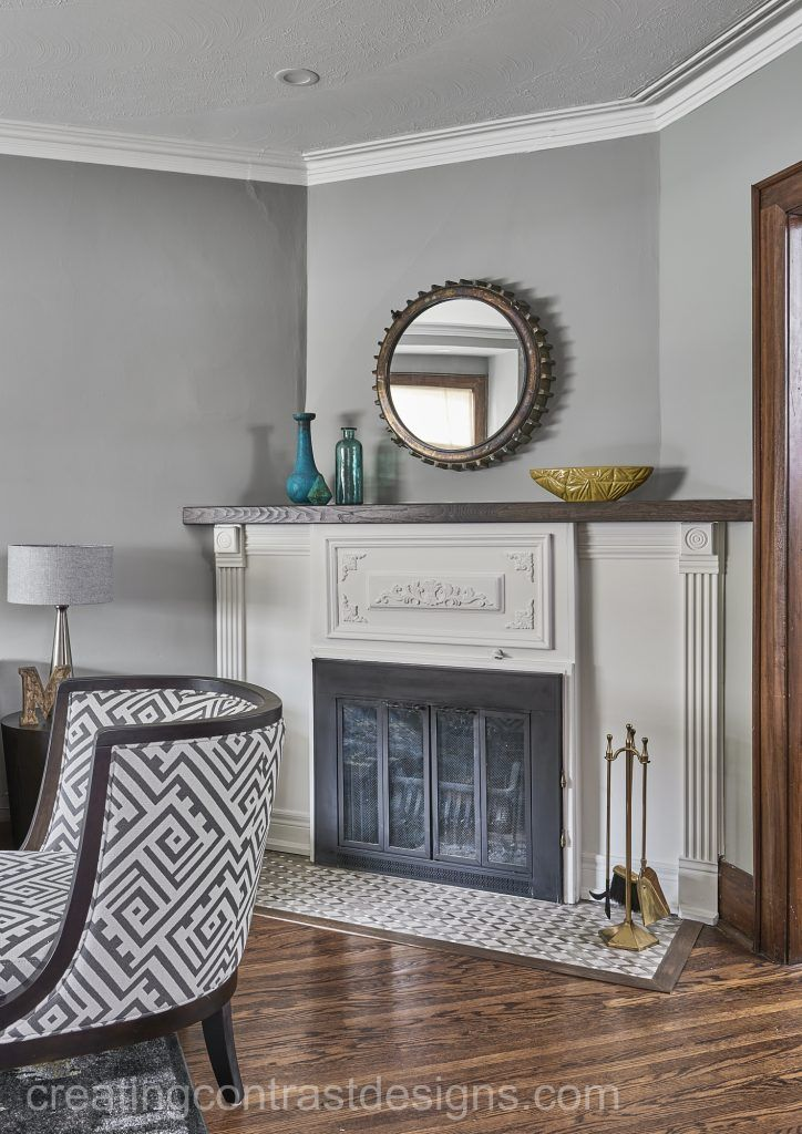 White Dove by Benjamin Moore Colour Review | Grey walls ...