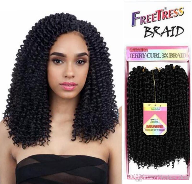Crochet Braids Freetress Bohemian Picture 2019 ombre