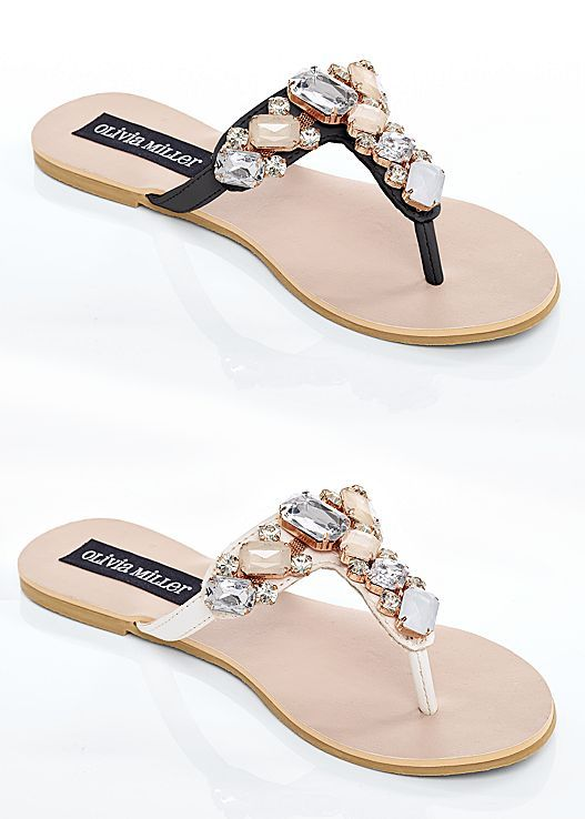 53a8955a7 Don t forget to pack these cute sandals for your vacation! Venus multi  color stone sandal.
