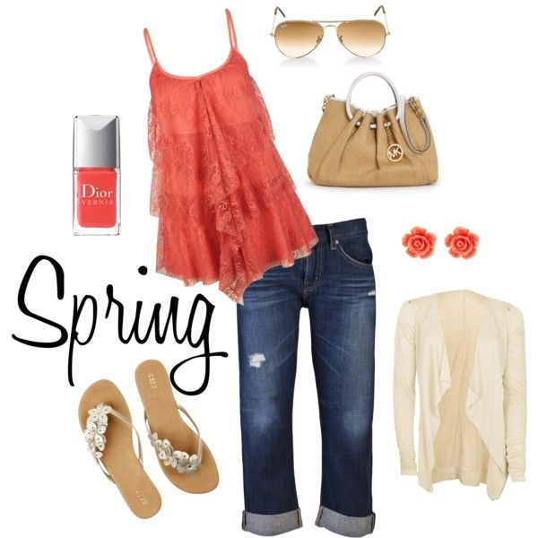 Happy Spring., created by lsalma on Polyvore