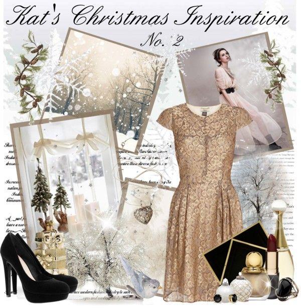 """KAT'S CHRISTMAS INSPIRATION NO.3"" by kat969 ❤ liked on Polyvore"