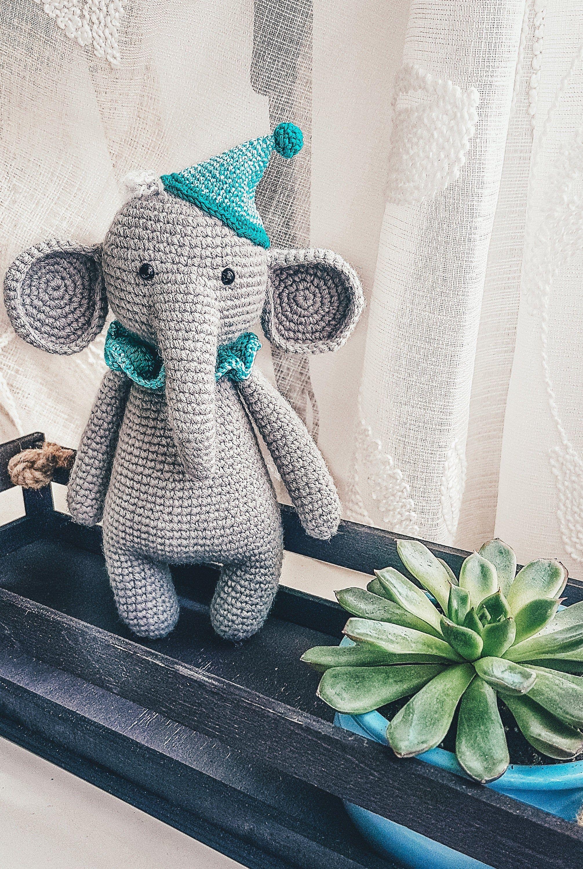 Shereo's crochet pattern+video tutorial of mascot elephant ...   3000x2012