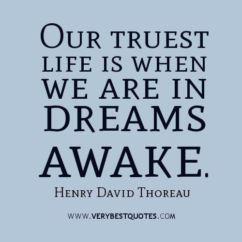 Thoreau Quotes On Dreams QuotesGram Favorite Quotes Pinterest Simple Favorite Quotation