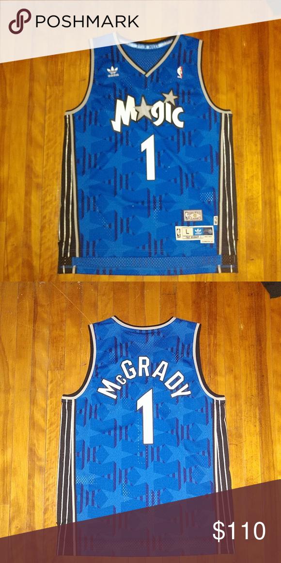 Tracy McGrady Basketball Jersey 2002-2003 Orlando Magic Adidas NBA  Basketball jersey of Tracy McGrady c8a94c13b