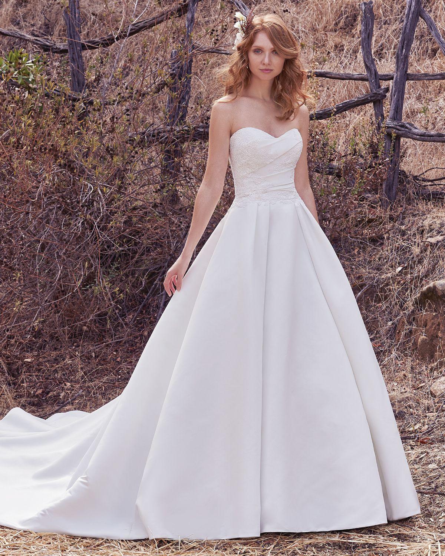 Vestido de Novia de Maggie Sottero (Cressida), corte princesa ...