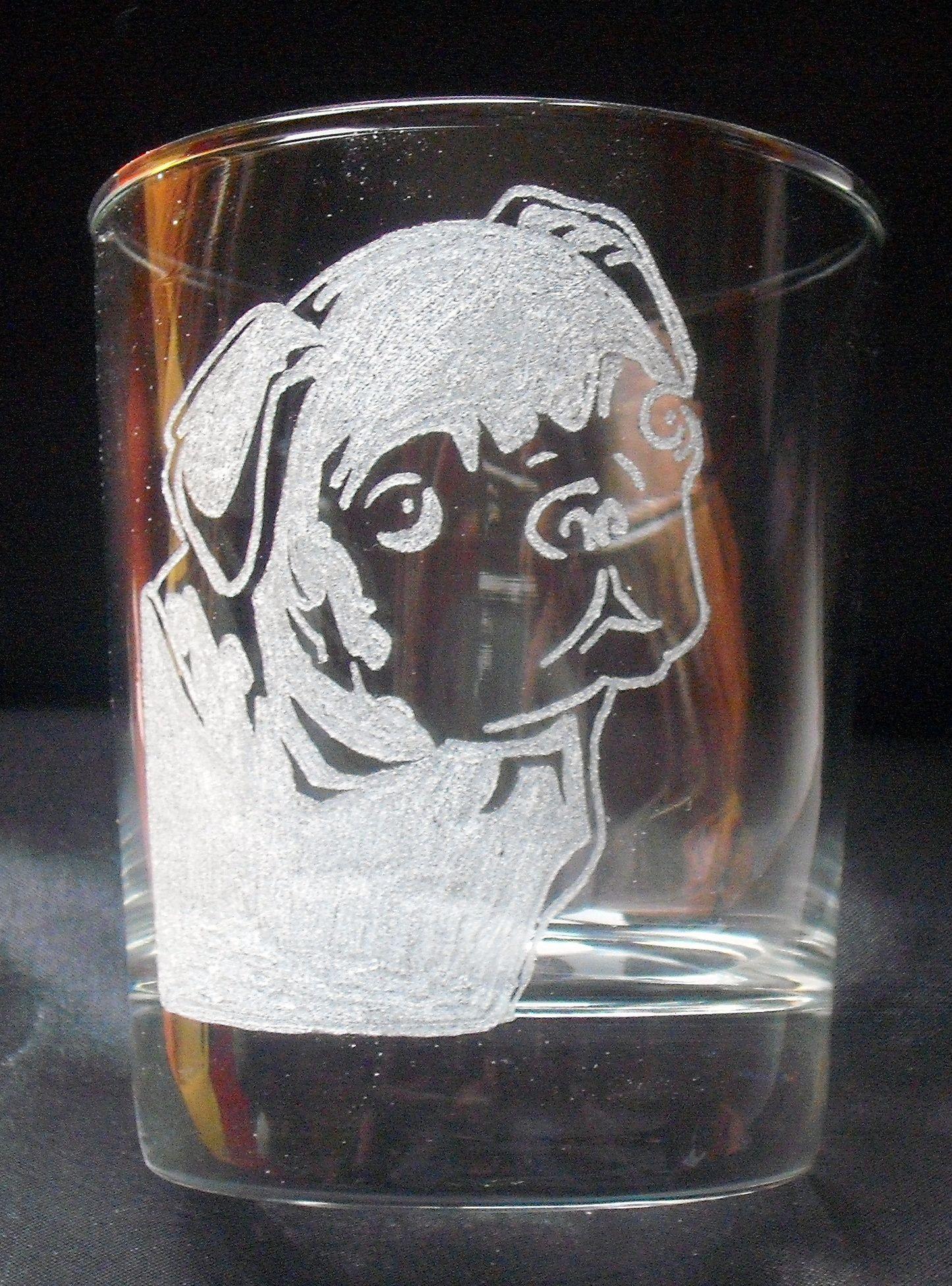 gravure sur verre chien bouldogue gravure sur verre pinterest. Black Bedroom Furniture Sets. Home Design Ideas
