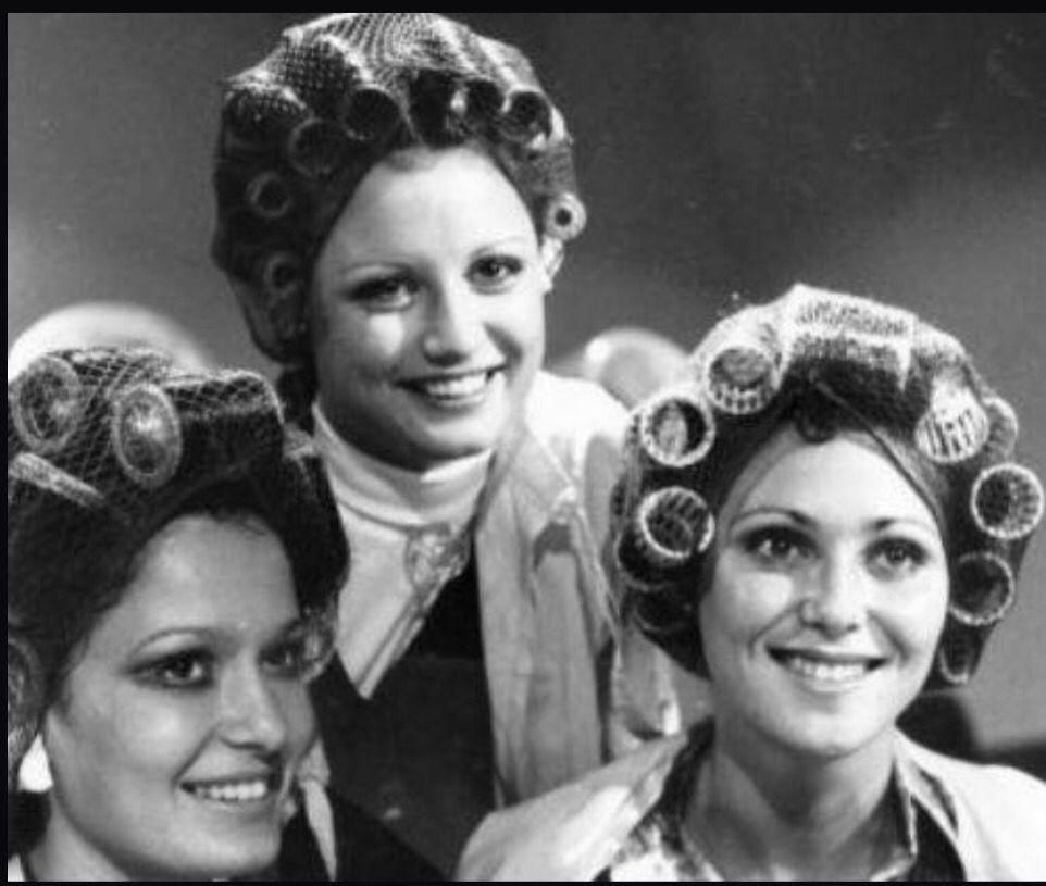 Curlers And Smiles All Around Vintage Hair Salons Sleep