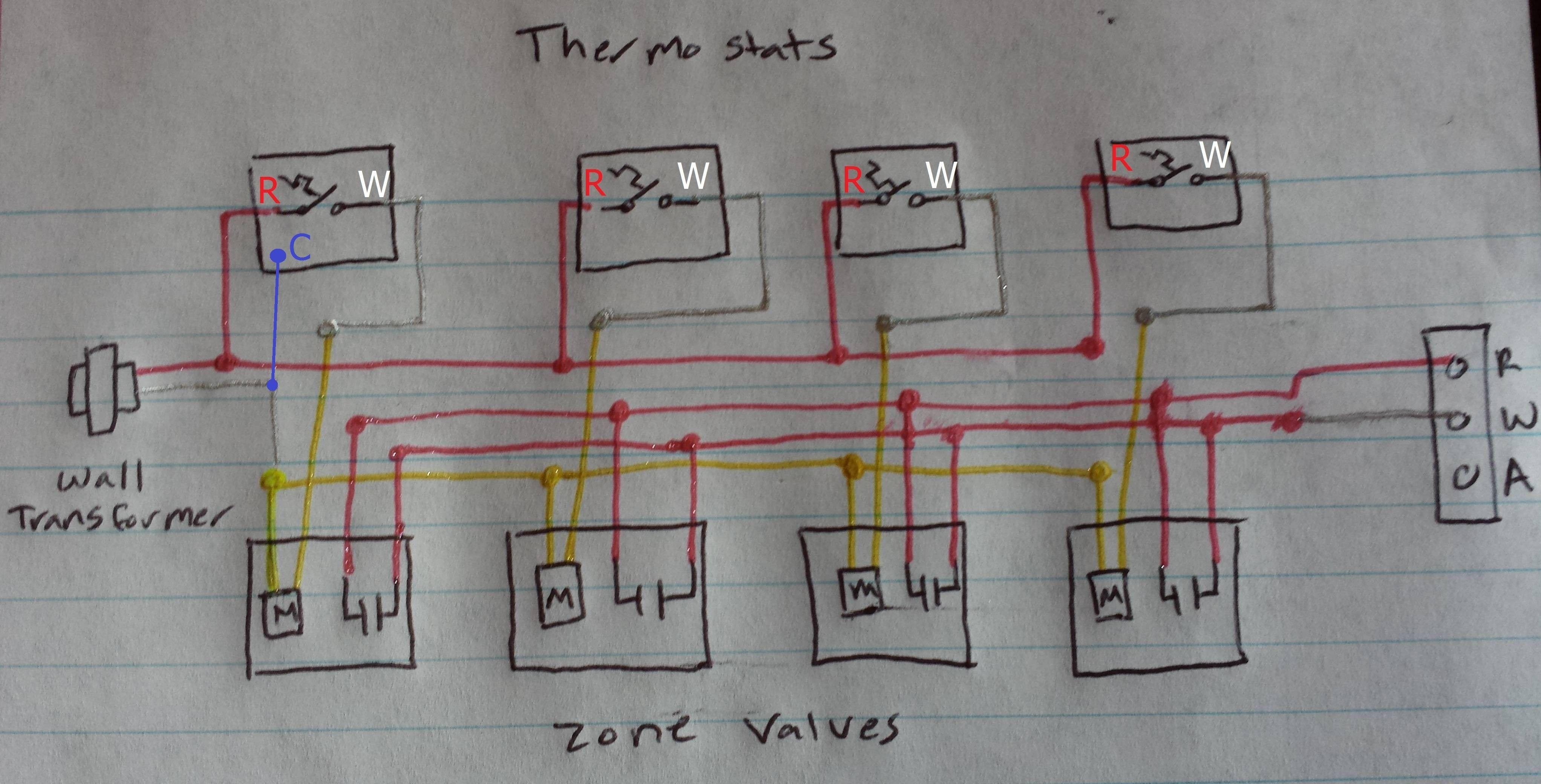Boiler Transformer Wiring Diagram