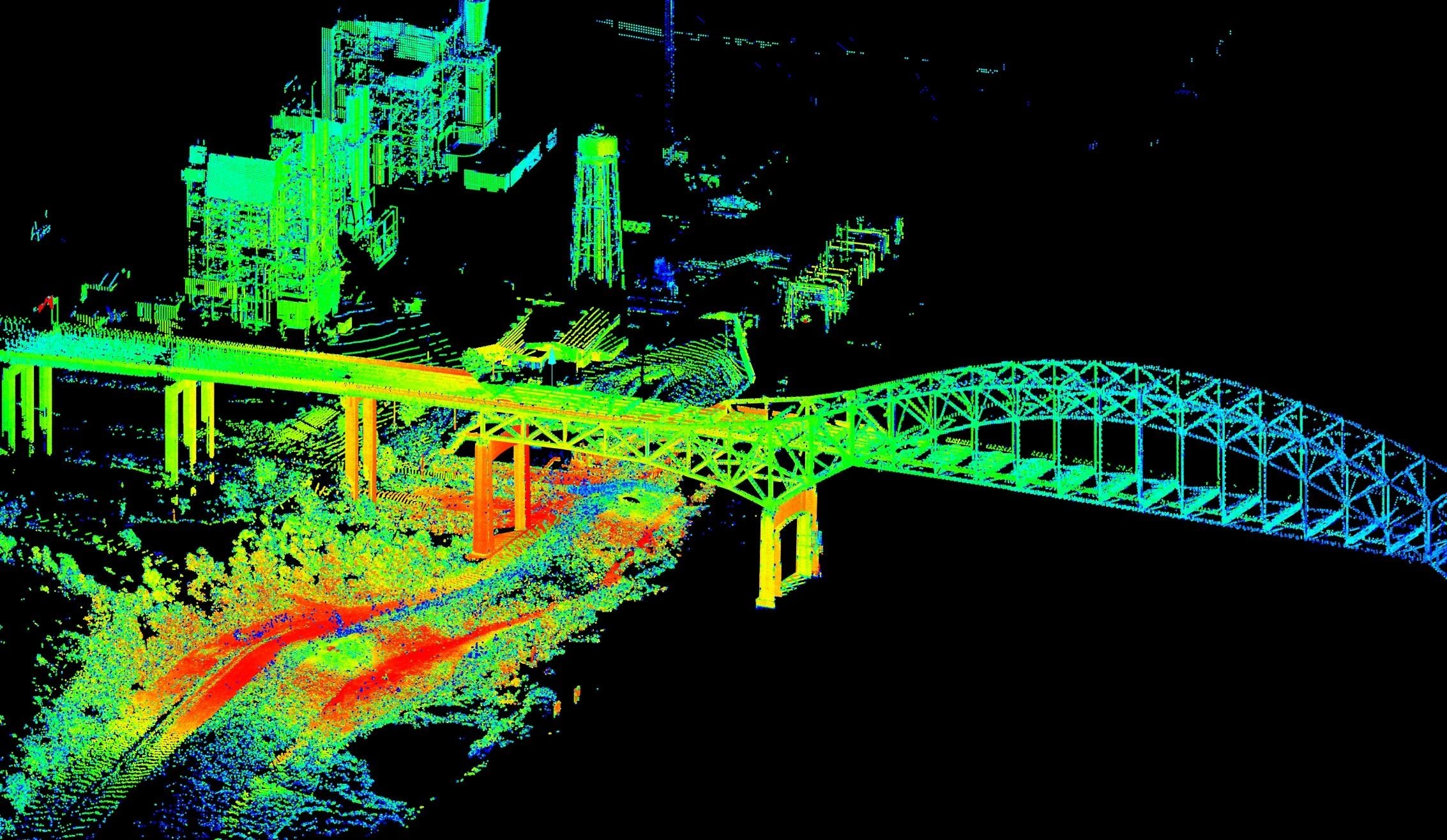 Terrestrial Lidar to Map Flooding from Hurricane Isaac | USGS