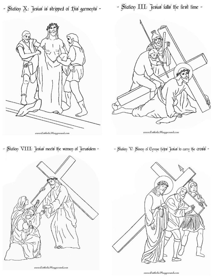 Adaptable image with regard to stations of the cross catholic printable