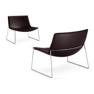 Lage Lounge Stoel.Arper Catifa 80 Lage Slede Lounge Chair Arper Catifa 80 Lounge