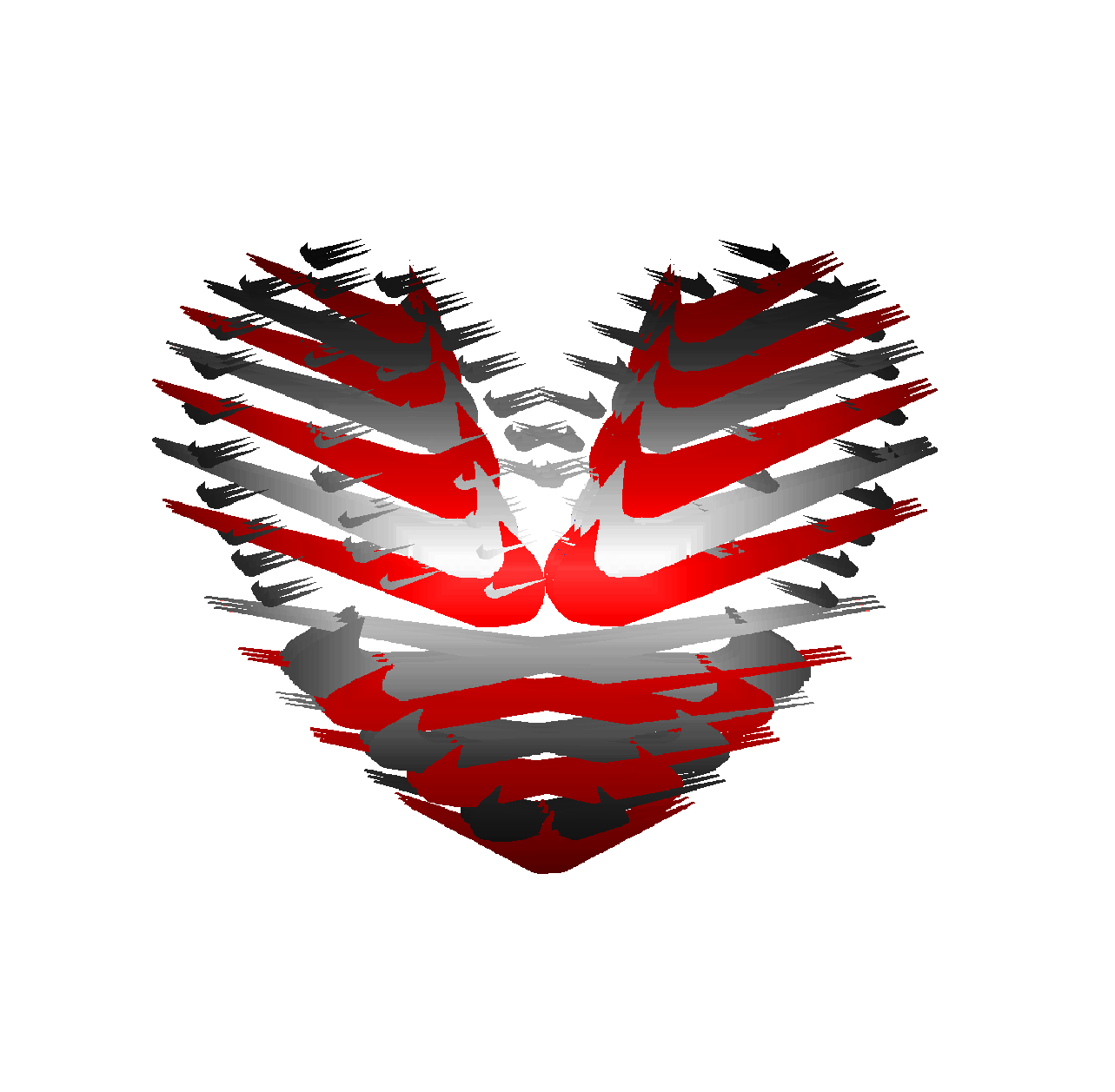 American flag made of nike logo with love sign nike american flag made of nike logo with love sign buycottarizona Choice Image