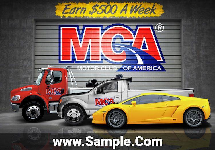 Pin on Motor Club of America