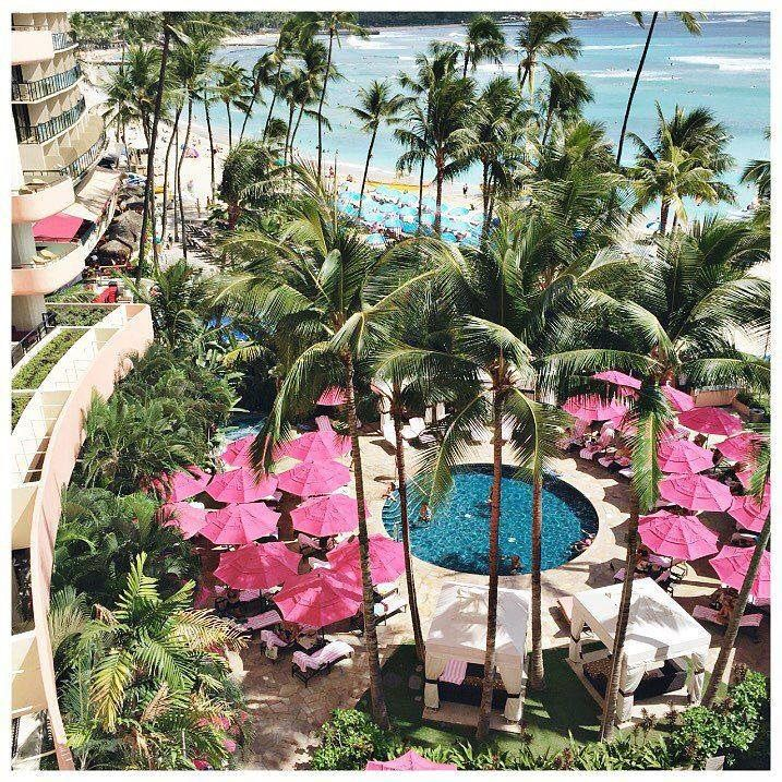 #roomwithaview hint: Color is abundant in the Hawaiian Islands and @jillian.harris' hotel has lots of color. But one in particular is their favorite. Can you guess her hotel? Tell us in the comments by 2:59am ET 9/24/15 to be entered to win your own hote
