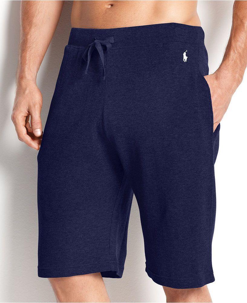 Shorts · POLO Ralph LAUREN Sleepwear SHORTS Blue SMALL Pony ...