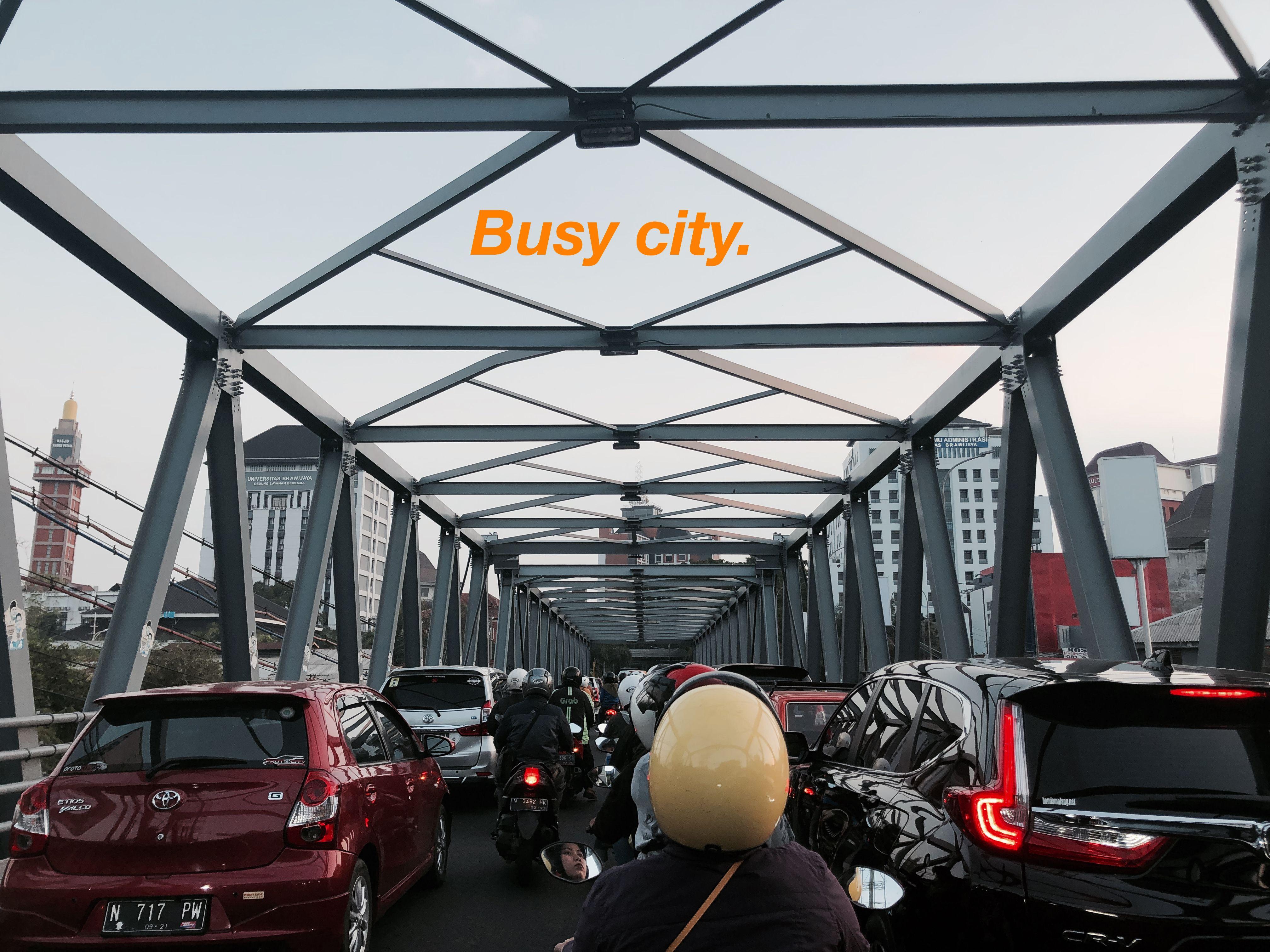 Busy City Malang Fotografi Perjalanan Gambar Kota Fotografi Alam