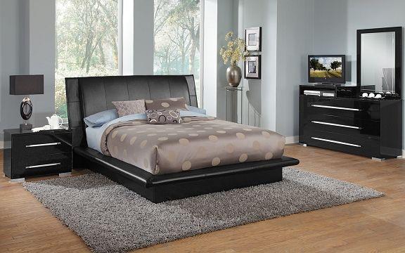 Dimora Black Bedroom Collection Value City Furniture Furniture