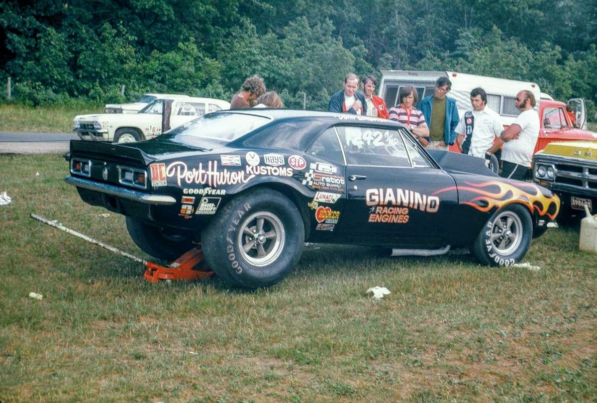 Sam Giannino S A Mp 68 Camaro Drag Racing Cars Chevy Muscle Cars Vintage Muscle Cars