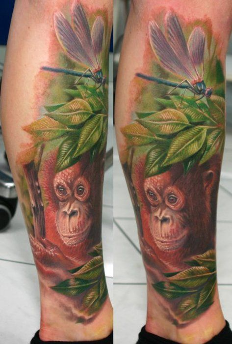 orangutan tattoos - Google Search