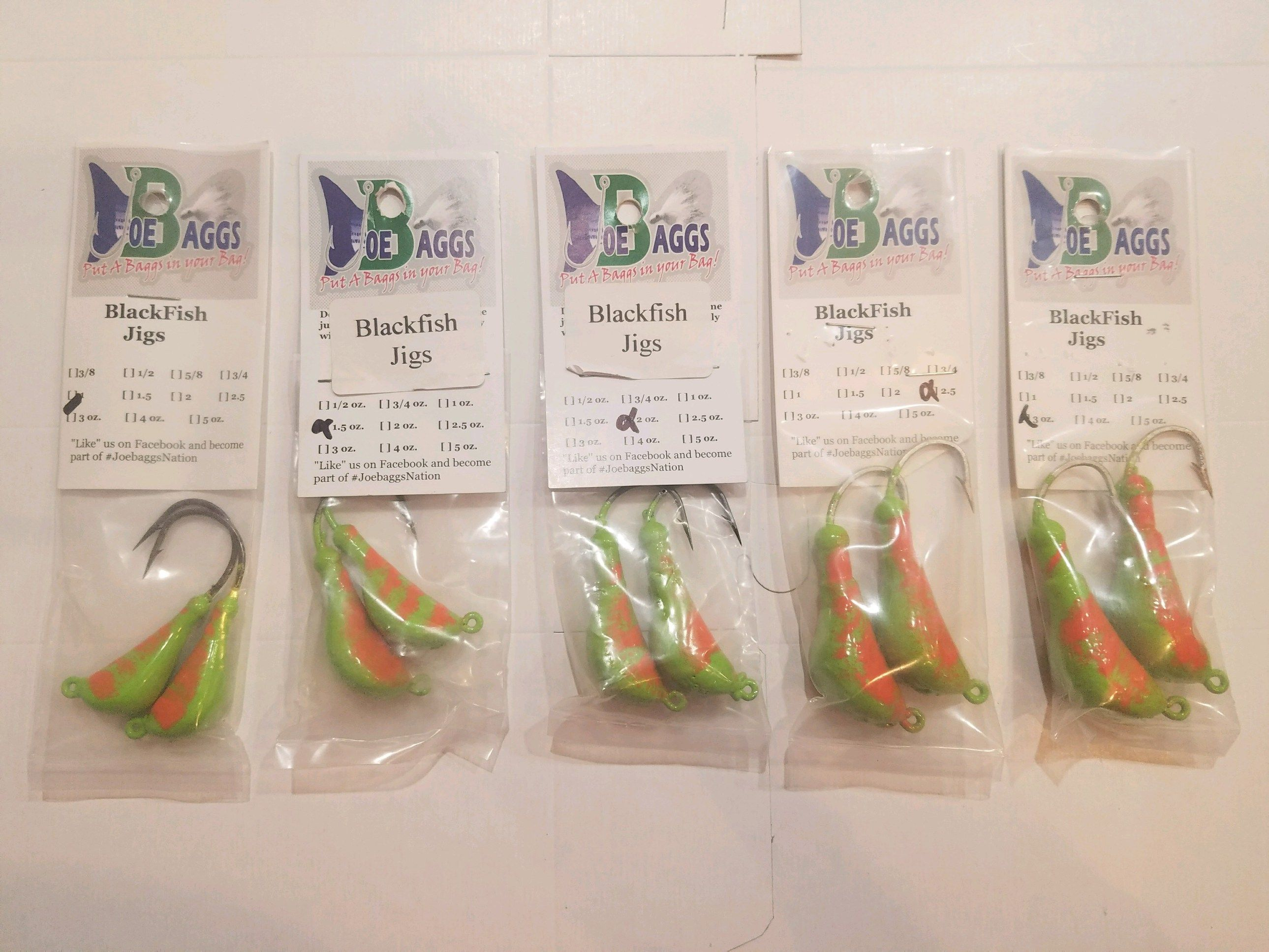Jigs for tautog fishing blackfish jigs tautog jigs by joe for Tautog fishing rigs