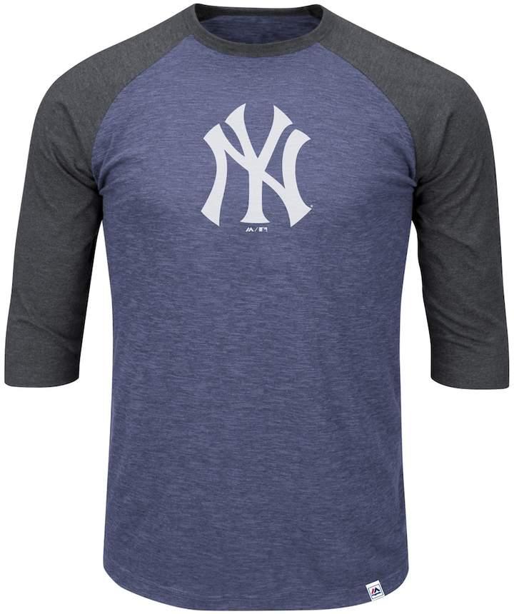 Majestic Big   Tall New York Yankees Baseball Tee  627421f6695