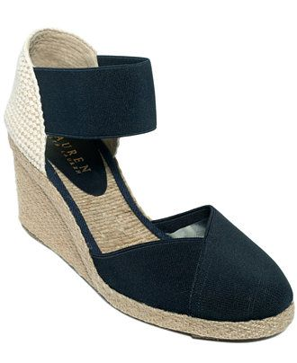 80de59564fa The Lauren by Ralph Lauren Charla Espadrilles highlight the designer s  sporty elegance with their refined closed toe