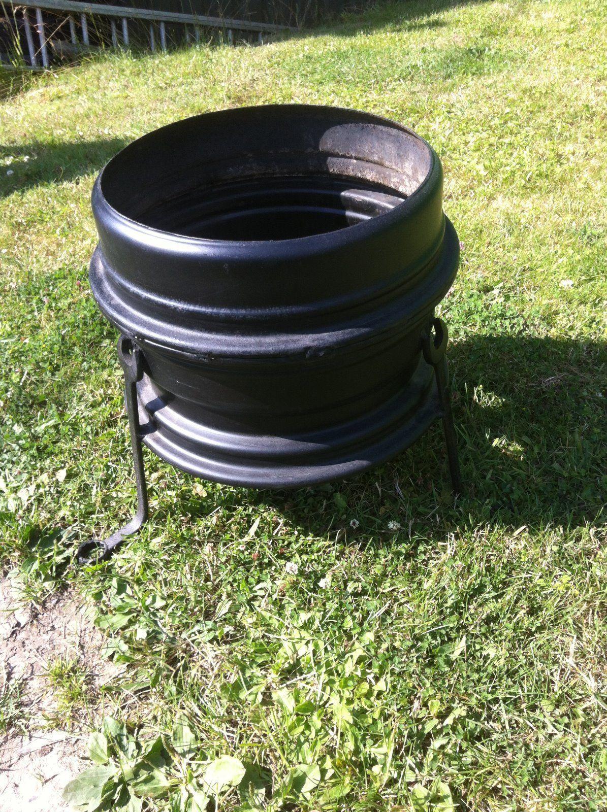 wheel fire pit | eBay | Patio stuff | Pinterest | eBay ...