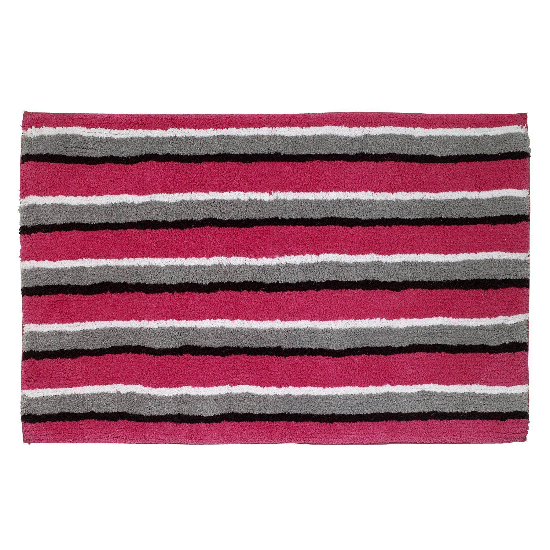 Avanti Linens 13824jmul Chloe Bath Rug Medium Multicolor Bath Rug Rugs Striped Bath Rug [ 1800 x 1800 Pixel ]