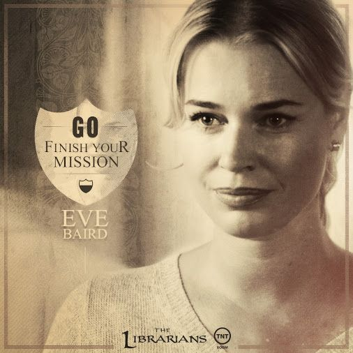 """Go - Finish your mission."" - Eve Baird"