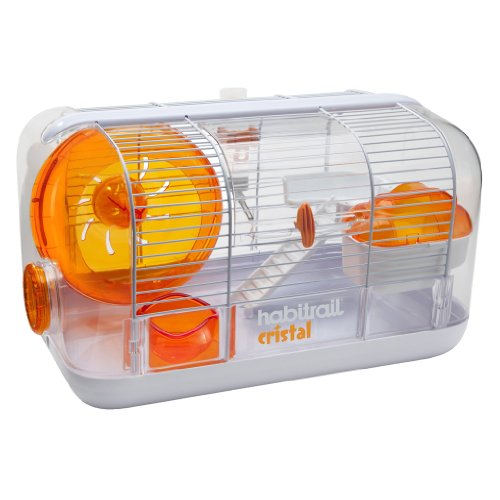 The Habitually Cristal Is A Hamster Habitat That Serves As A Safe And Secure Living Area For Hamsters Hamster Habitat Hamster Cages Cool Hamster Cages