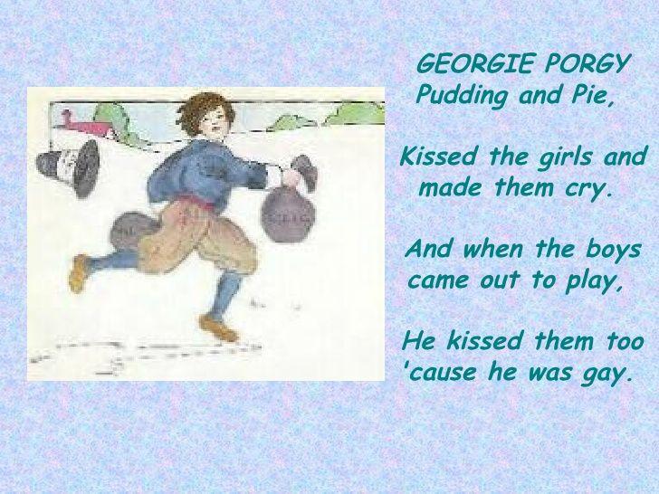 georgy porgy - Google zoeken
