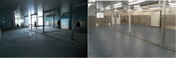 An interesting image of how altro Screed Quartz can be