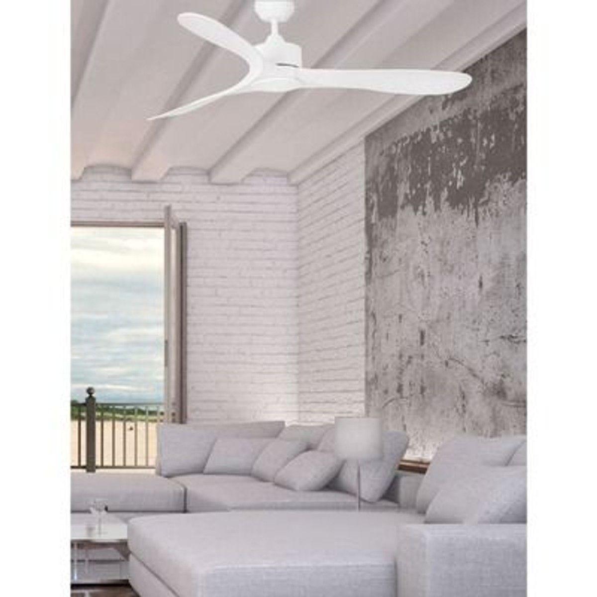 Ventilateur Luzon 132cm Blanc Taille Taille Unique Ventilateur Plafond Ventilateur Et Plafond