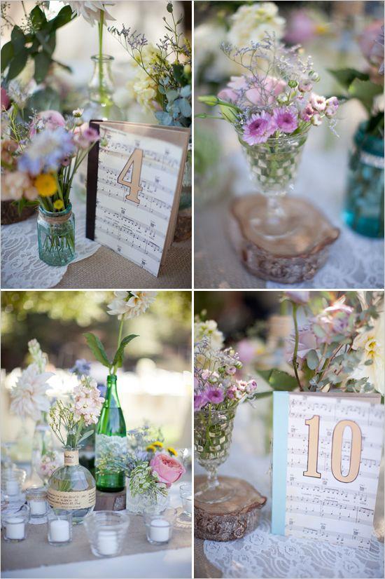 Handmade Vintage Wedding Ideas Decor Details For Weddings