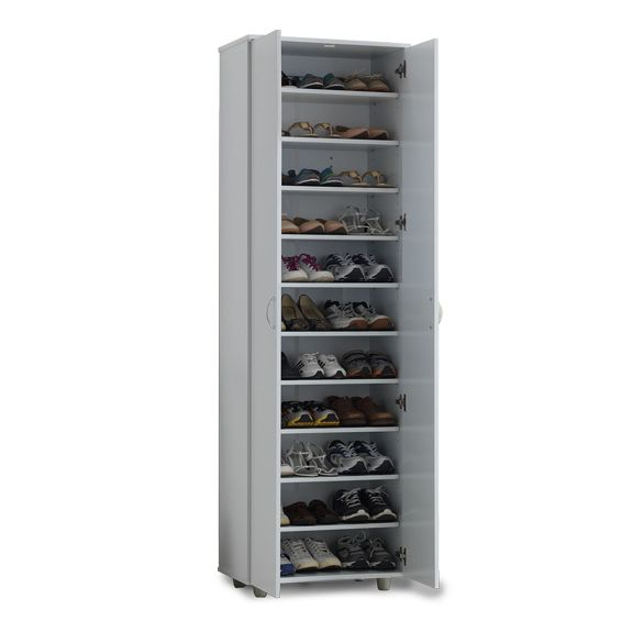 Klass Tall Shoe Cabinet White Home Box Shoe Cabinet Cabinet White