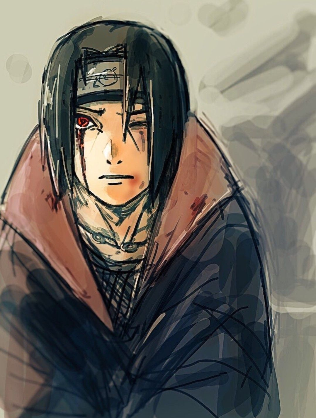 𝑨𝒎𝒂𝒕𝒆𝒓𝒂𝒔𝒐 𝑴𝒂𝒏𝒈𝒆𝒌𝒚𝒐𝒖 𝑺𝒉𝒂𝒓𝒊𝒏𝒈𝒂𝒏 in 2020 Naruto art, Itachi