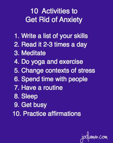 #Anxiety #Tips #Tricks jodiaman.com