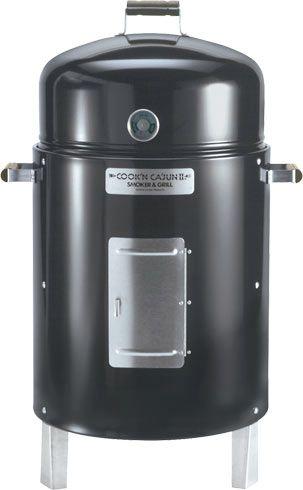 Cookn Cajun Ii Charcoal Smoker Grill