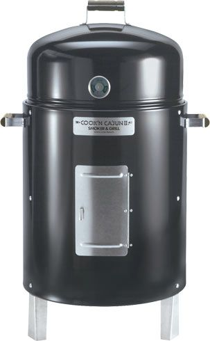 Nice Review Cookn Cajun Ii Charcoal Smoker Grill Charcoal Smoker Best Charcoal Grill Smoker Cooking