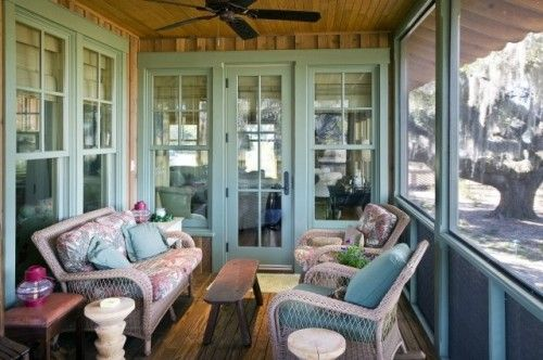 Cabin porch Cabin Pinterest Porch, Screens and Screened porches