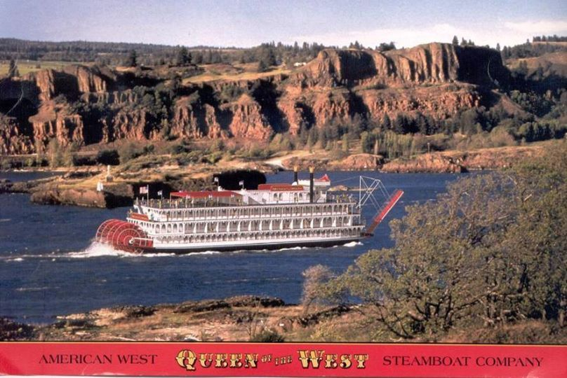 Queen of the West Riverboat 1995