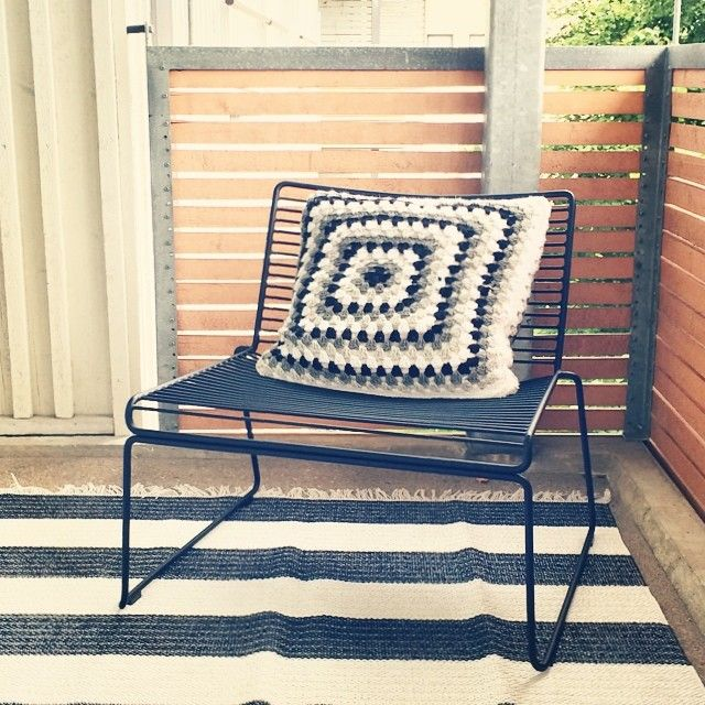 my balcony hay hee lounge chair plastic carpet diy grandma square pillow cover balcony. Black Bedroom Furniture Sets. Home Design Ideas