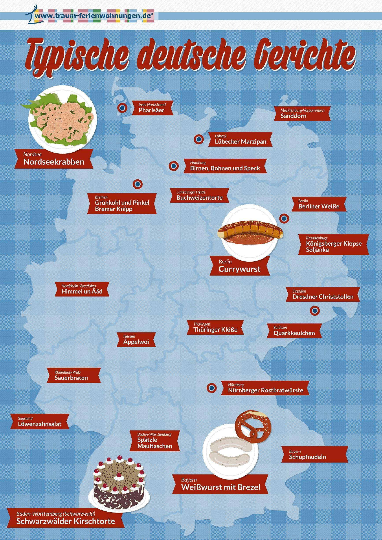 25 typische deutsche Gerichte - eine kulinarische Reise durch ...