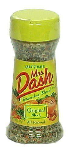Mrs Dash Original Blend Salt Free Seasoning Blend 2 5 Oz 605021000086 Salt Free Seasoning Blend All Natural No Salt Free Seasoning Seasoning Blend Salt Free