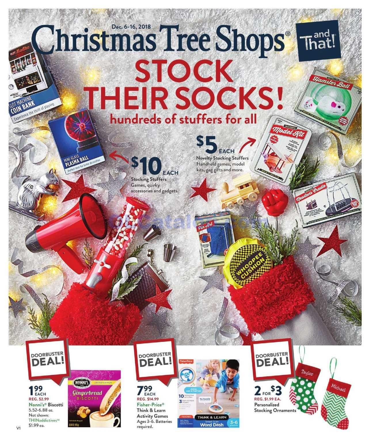 Christmas Tree Shops Circular Flyer December 5 – 16, 2018 ...