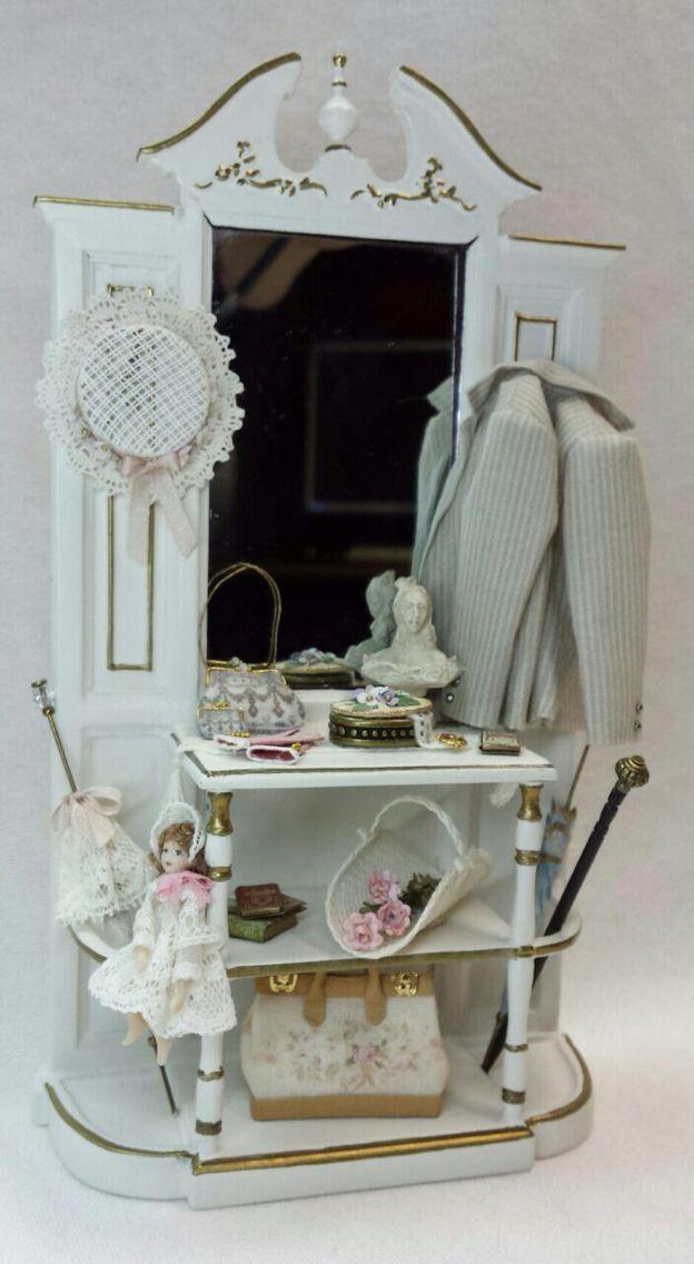 Mueble tuneado y decorado con complementos hechos a mano - Muebles decorados a mano ...