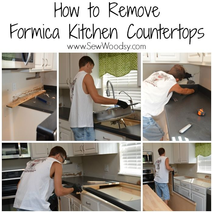 Easy Tips And Tricks   U003e How To Remove Formica Kitchen Countertops From  SewWoodsy.