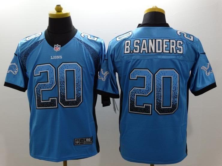 9fafc4aa4 Men 20 Barry Sanders Jersey Football Detroit Lions Jersey