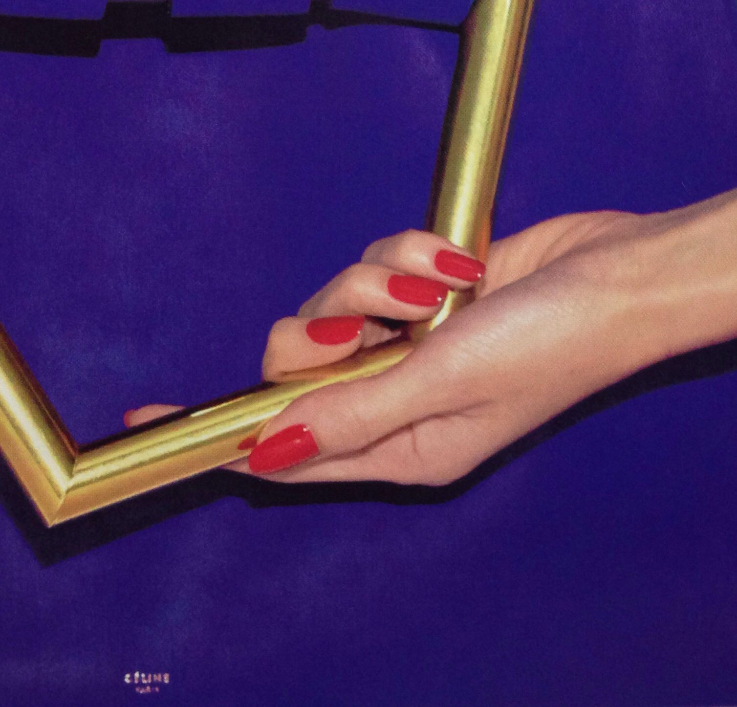 Red nails. HARPER's BAZZAR Japan, 2014 March